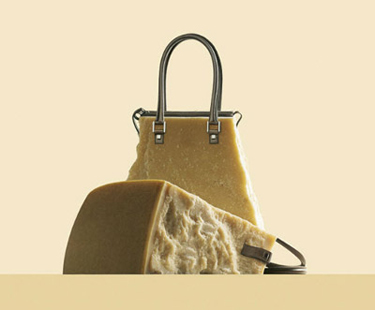 Food Art Pictures Cheese handbags by Fulvio Bonavia