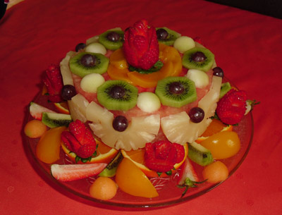 Watermelon cakes by Debbie Ennin