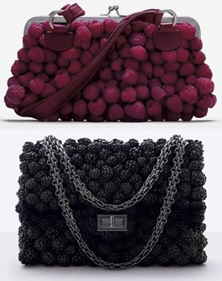 Food Art Pictures berry purse by Fulvio Bonavia