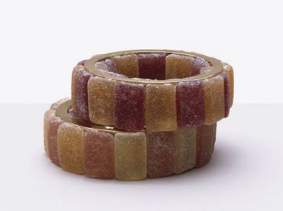 Food Art Pictures jelly candy bracelets by Fulvio Bonavia