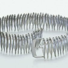Food Art Pictures sardine belt by Fulvio Bonavia