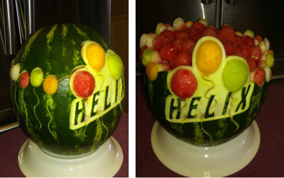 Birthday Bowl: American Flag Watermelon Carving For The 4th Of July