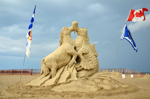 5th place Sand Sculptures by Michel Lepire