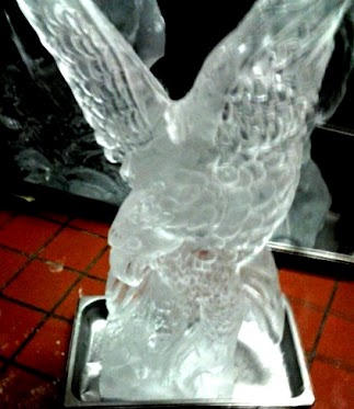 David Utley's 4th of July ice carving