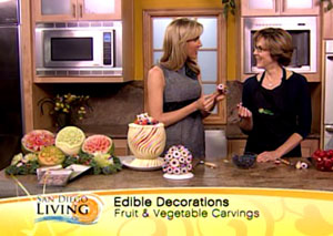 Nita Gill with Kristen Mosteller on San Diego Living