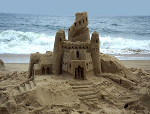 Summer Sand Sculptures Castle