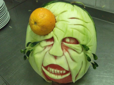 Creative watermelon carving by Mutfak Sanat