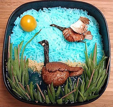 duck-bento-food-art