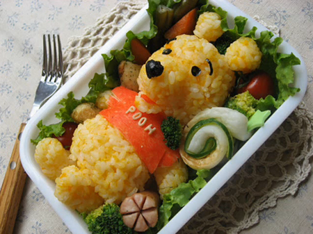 Japanese lunch box food art