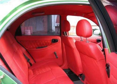 Inside of watermelon ideas car