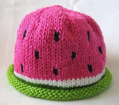 fashionable watermelon ideas hat