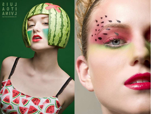 fashion watermelon ideas makeup