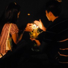 young-couple-festival of lights