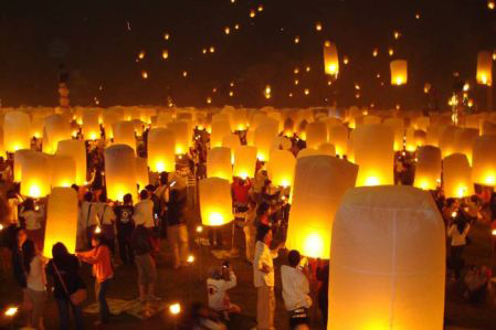 Festival of Lights in Chang Mai