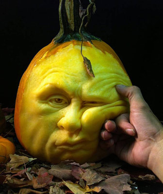 Ray Villafane Pumpkin Carving