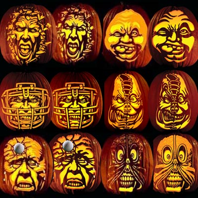 Pumpkin Tattoos that come in Ray Villafane Party Pack