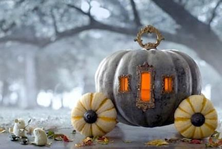 Princess pumpkin coach