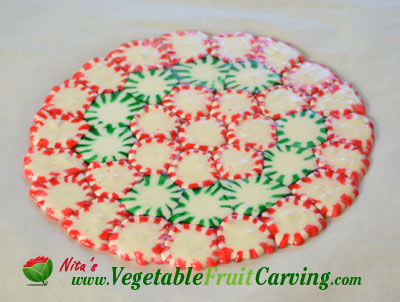 Christmas Candy Plate