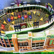 Super Bowl Stadium cake