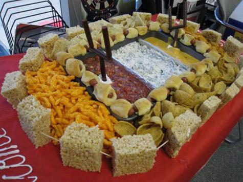 stadium super bowl food