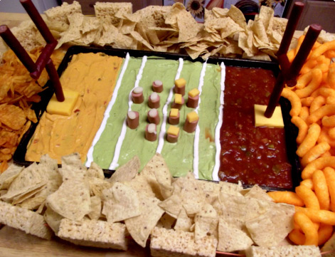 chip and dip snack stadium