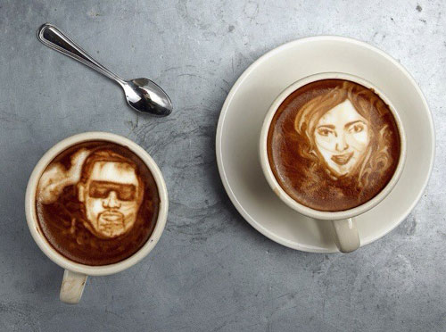 Mike Breach latte art