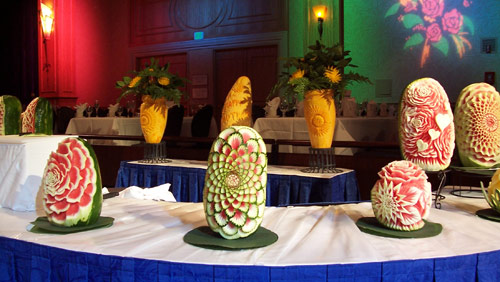 Mother s day fruit carving ideas