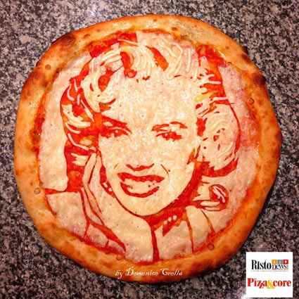 donemico crolla marilyn pizza
