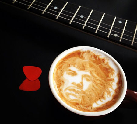 Jimi hendricks coffee portrait