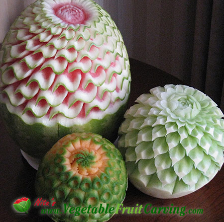 3 melon patterns