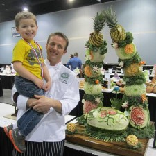 Pat O'Brien medals in culinary competition