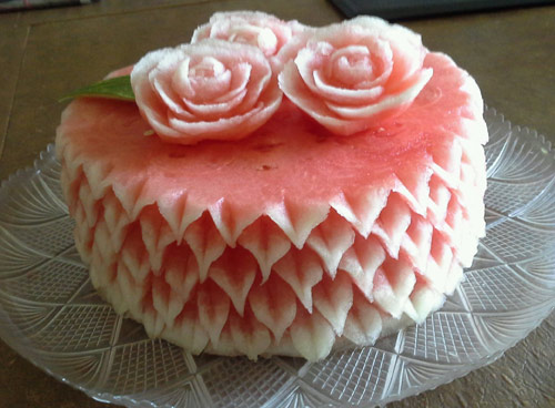watermelon cake by Rose Flores