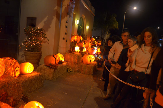 Halloween Pumpkins and the Self Realization Fellowship in Encinitas