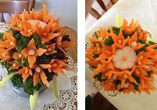 Carrot Bouquets