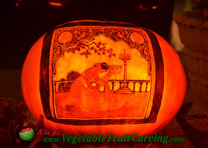 pretty pumpkin carvings