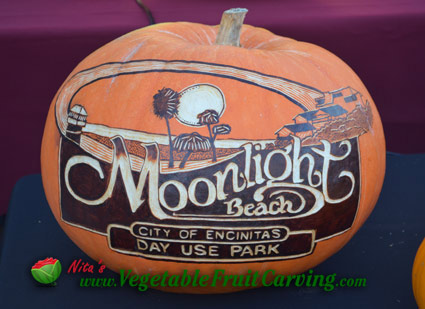 Moonlight Beach Pumpkin