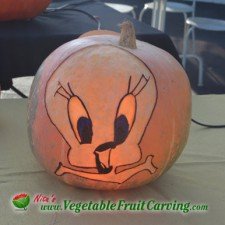 tweety-bird-pumpkin