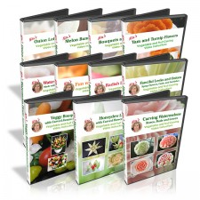 The 11 DVDs included in the 101 Course for Beginners