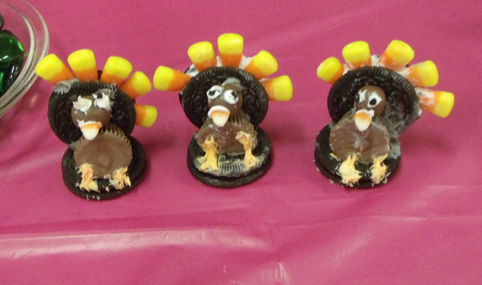 Food Art - Oreo Turkeys