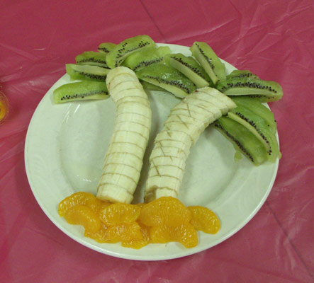 Food Art Fruit Palm Tree