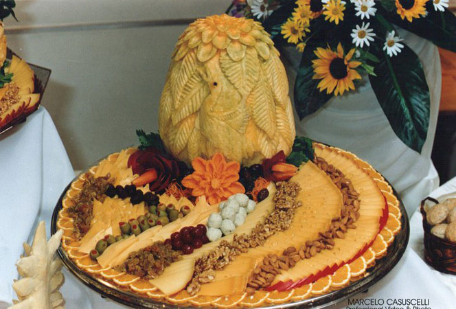 Thanksgiving Vegetable Tray