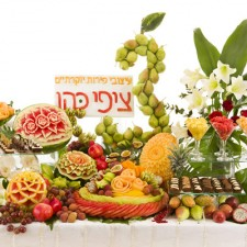 Fruit carvings for special events