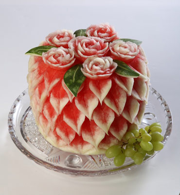 Tzipy Watermelon Rose Cake