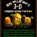 Cover of Ray Villafane's 3D Pumpkin Carving Tutorials