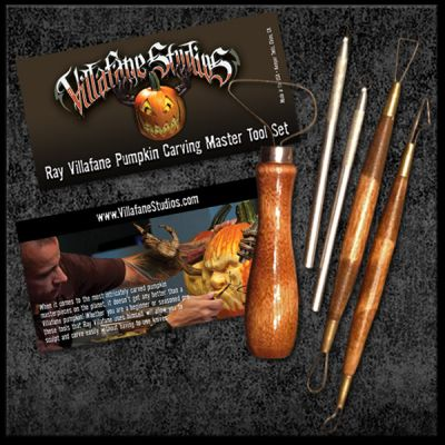 Pumpkin Carving Tools - Ray Villafane's favorite essential tools