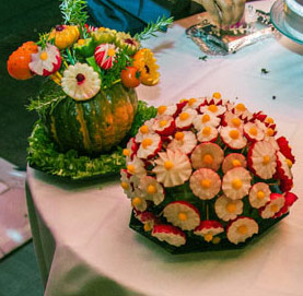 Edible Vegetable Bouquets