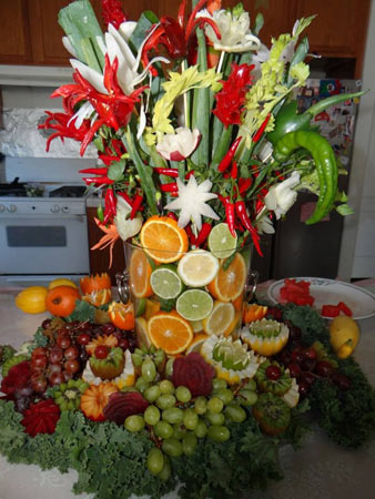 Vegetable Bouquet Evelyn