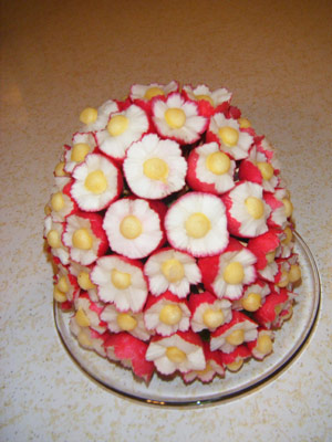Cindy Radish Bouquet