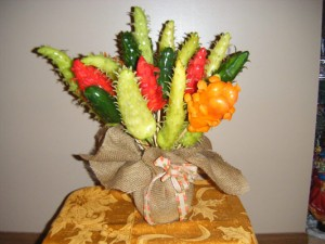 Vegetable Bouquets