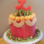 watermelon cake by Cindy Rozich